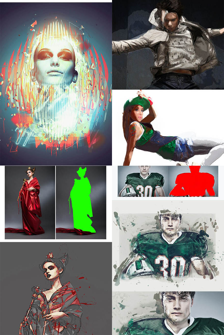 graphicriver fearless photoshop action 10063348