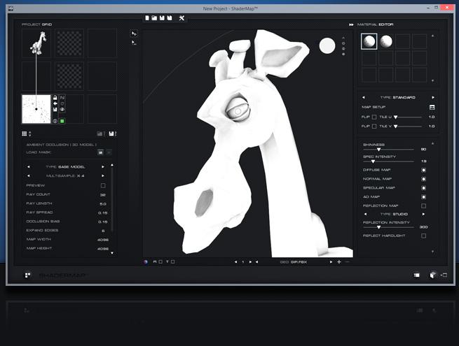 shadermap batch process