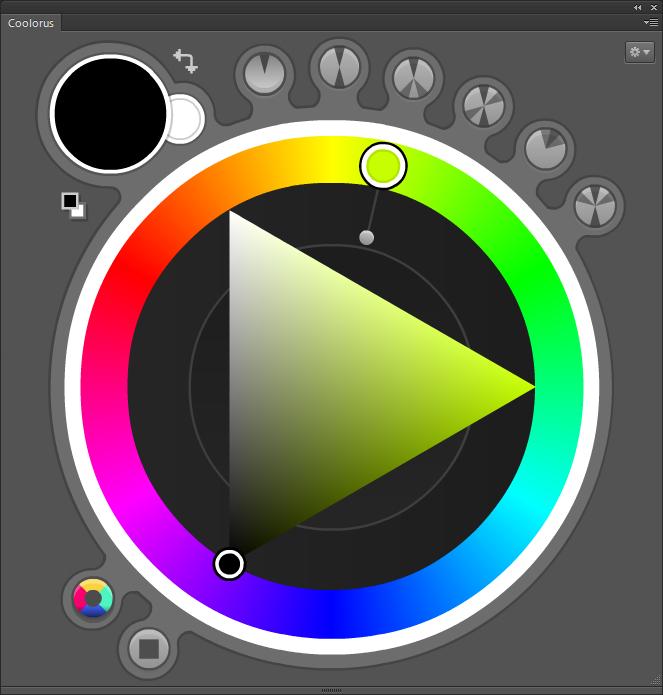 PS色版插件Coolorus