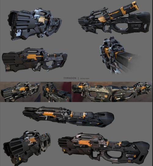 孤岛危机3 疾电狙击枪模型