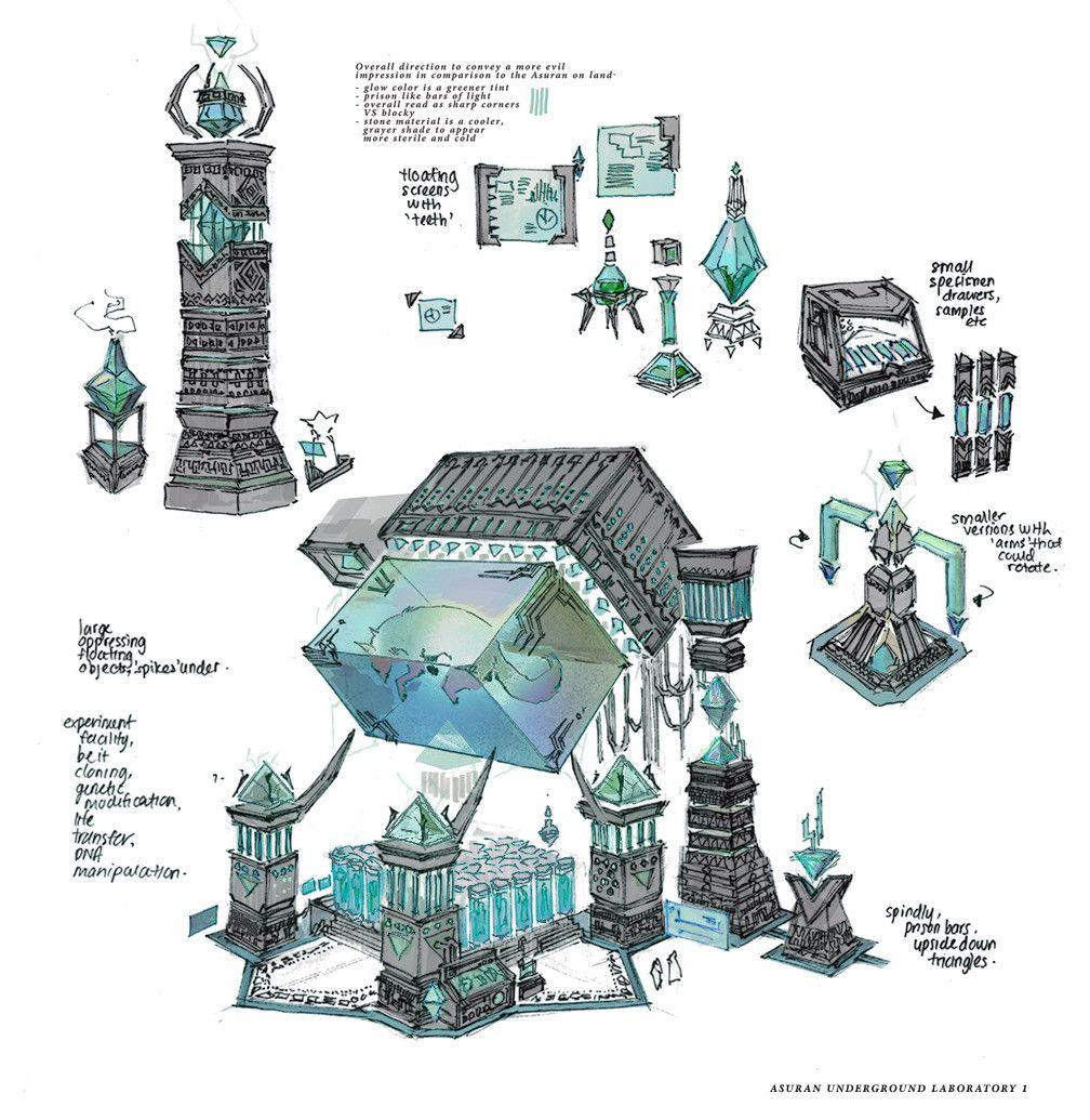 【原画资源】美国概念设计师carlyn lim作品|花廊