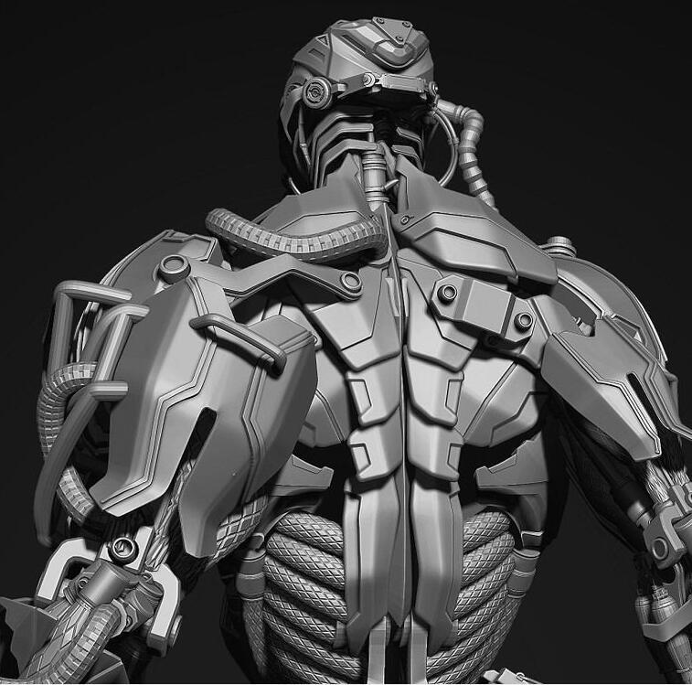 科幻机甲_6000张机甲佣兵科幻角色 机械外骨骼设定合集!