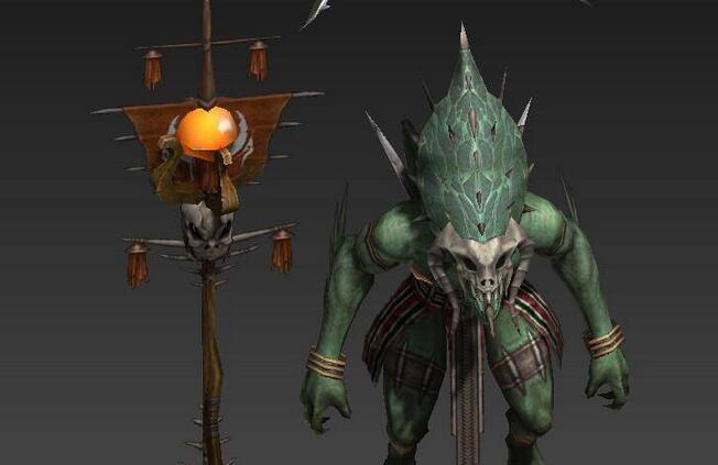 次时代精品怪物角色3d模型