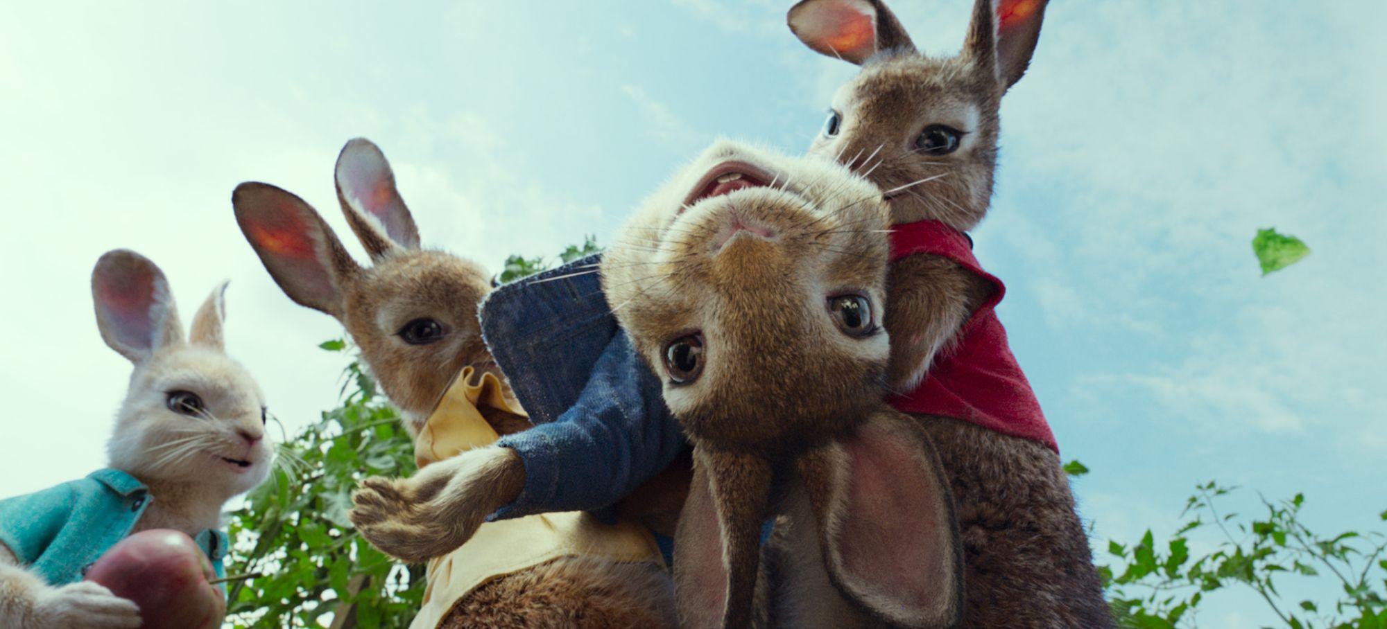 彼得兔- official trailer (hd),满满的小动画,感觉会很好看的样子.