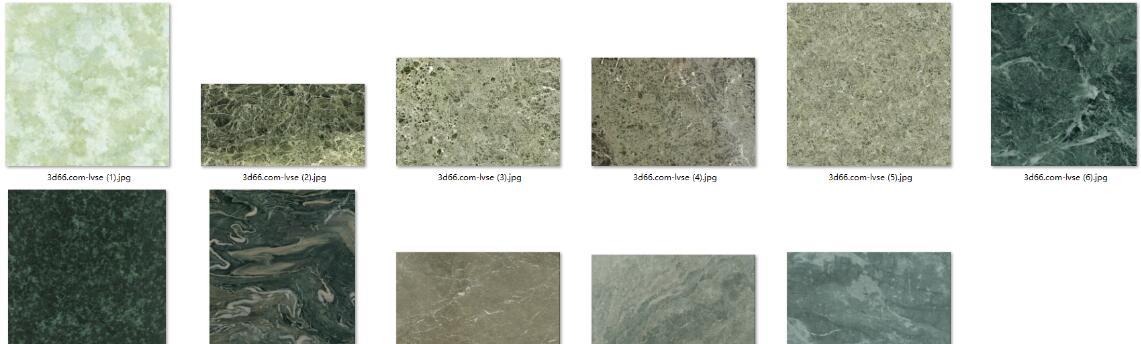 116张 9种类别 花岗岩 大理石贴图素材