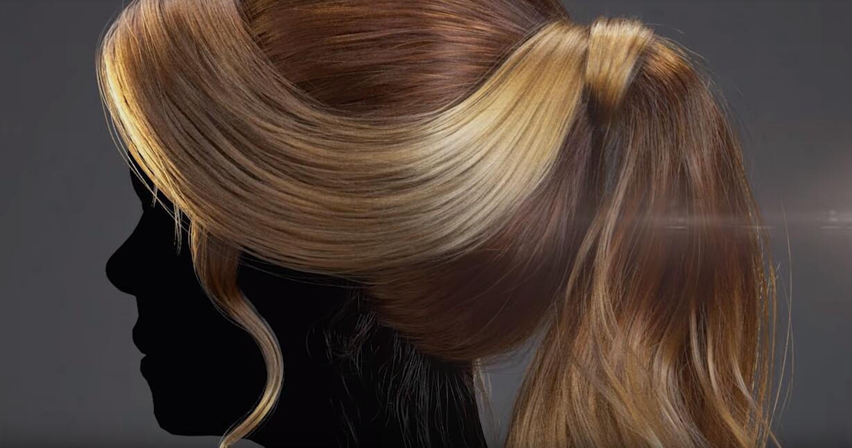 的XGen和阿诺德改变器来v教程教程女性|大小|花如何用ps渲染水印发型图片